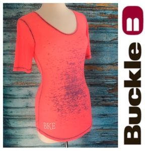 BKE Super Soft XS Tee Coral / Orange / Purple